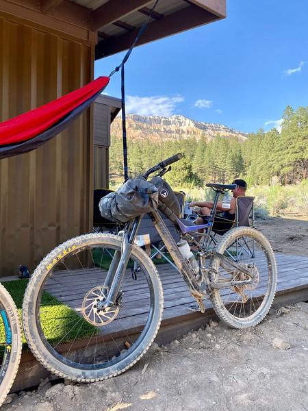 Aquarius Trail Hut Trip 2021
