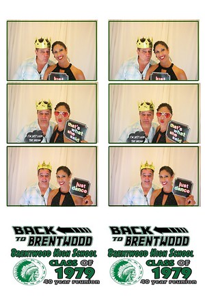 Brentwood 40th Reunion Photo Booth