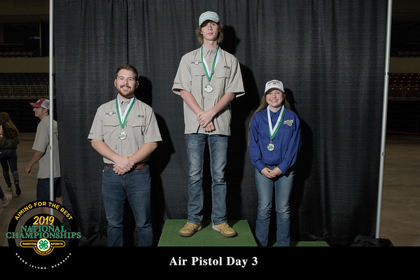 Overall and Day 3 Awards