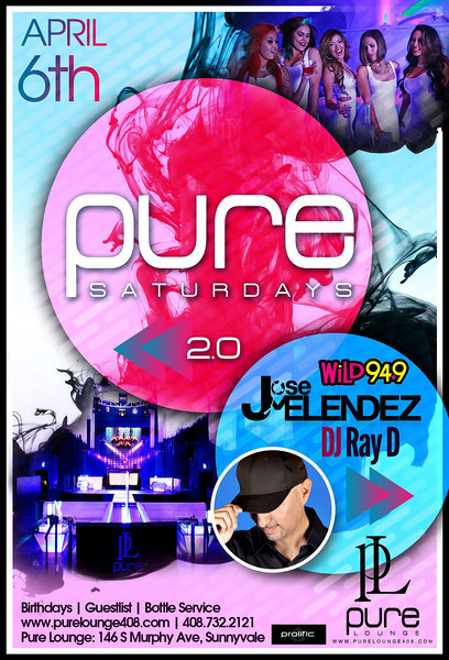 4/6 [Pure Saturdays 2.0@Pure Lounge]