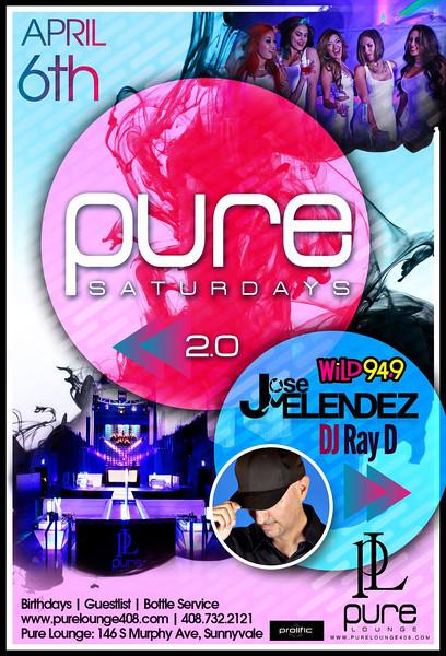 4/6 [Pure Saturdays 2.0@Pure Lounge]