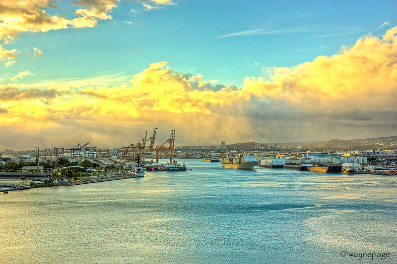 Oahu Port HDR