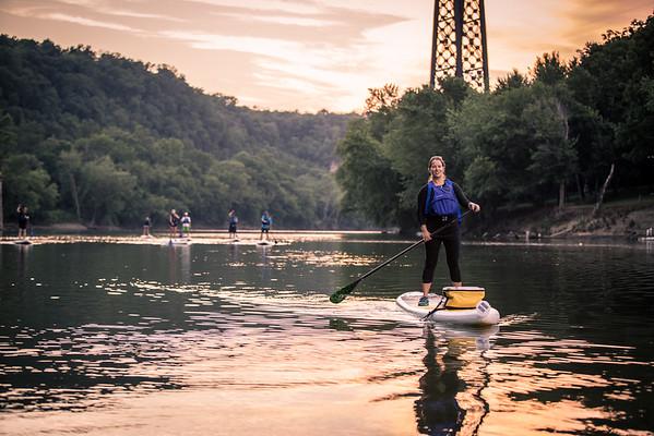 SUP Kentucky - Full Moon Paddle