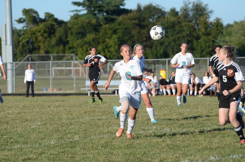 Girls Varsity Soccer September 23 vs Rising Sun