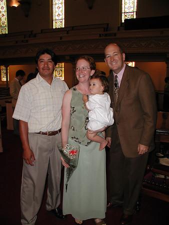 05-14 Kevin's Baptism -- July 10, 2005