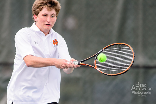 NDHS Tennis vs Reagan 2016
