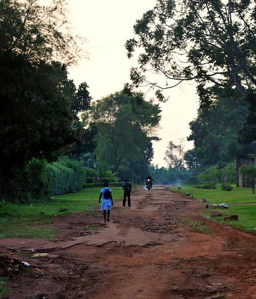 Along the roads of Uganda