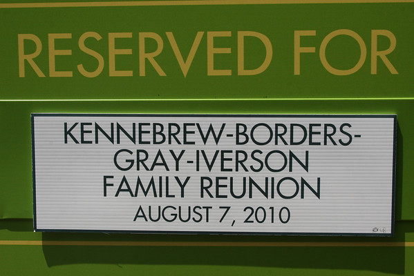 Martha Johnson Families:  Kennebrew, Gray, Borders, Iverson Family Reunion (2010)