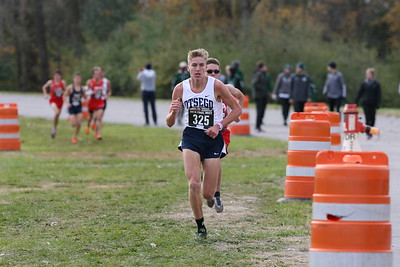 D2 Boys at 1.3 Miles - 2018 MHSAA LP XC Finals