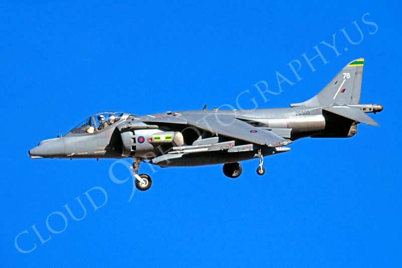 BAE Harrier 00004 BAE Harrier British RAF ZG505 November 2003 by Peter J Mancus.JPG