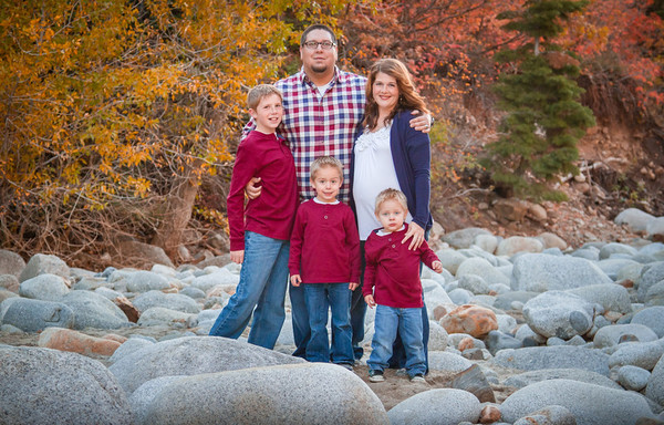 Family Portraits at the Temple Quarry