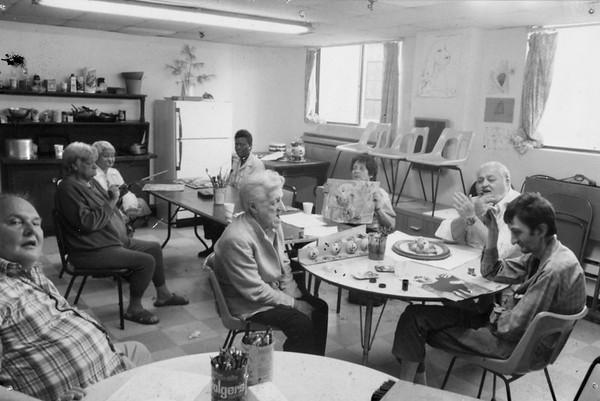 1986-1996 artist-in-residence ̶ early years