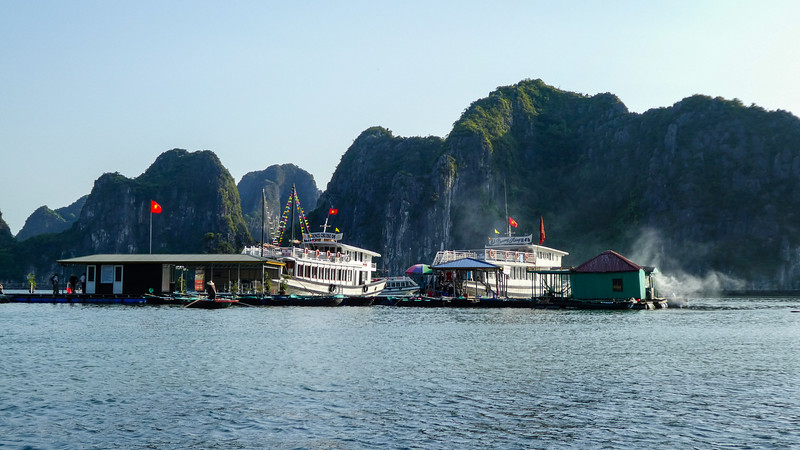 Floating Dock, Ha Long Bay