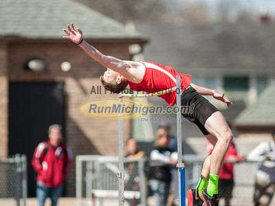 Men's High Jump - 2014 Ernie Mousseau Invite