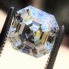 3.30ct Vintage Asscher Cit Diamond GIA J VS1 21