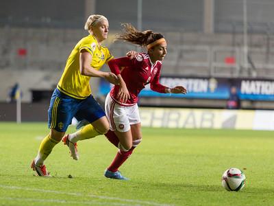 2015-10-27 Sverige vs Danmark