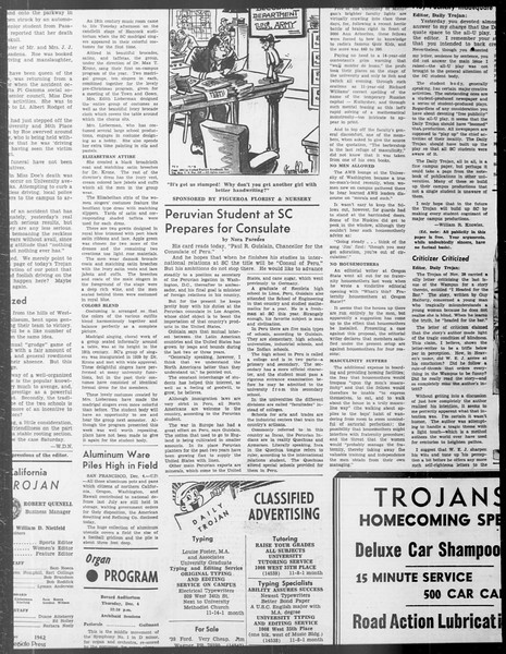 Daily Trojan, Vol. 33, No. 45, November 07, 1941