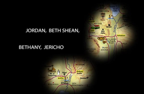 Israel 3 - Jordan, Beth Shean, Bethany, Jericho