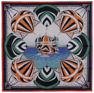 Spinnakers - Orange Green White - NWCTS - 1403130008