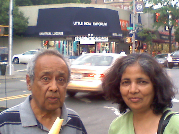 2008-05-23 Parents Visting New York City