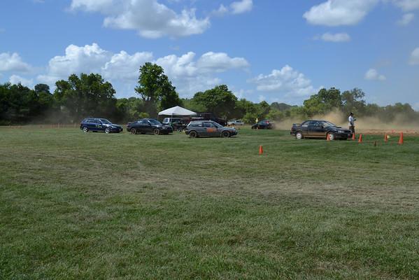 7-14-13 DC Region SCCA Rally Cross Test n Tune