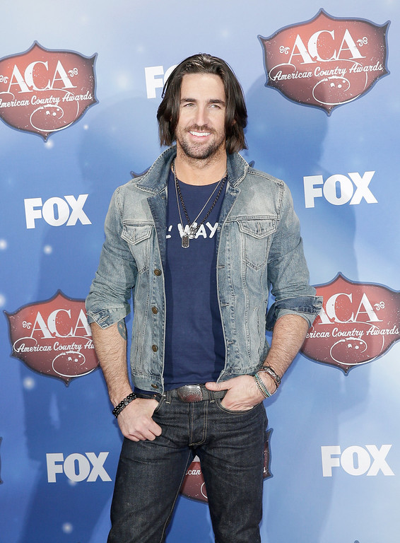 . Recording artist Jake Owen poses in the press room during the 2013 American Country Awards at the Mandalay Bay Events Center on December 10, 2013 in Las Vegas, Nevada.  (Photo by Isaac Brekken/Getty Images)