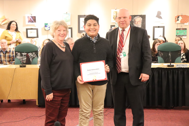 Pablo Kalamafoni, sixth grade, Lycoming Valley Intermediate