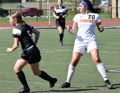 HS Sports - Dearborn vs. Edsel Ford Girls Soccer District Semi