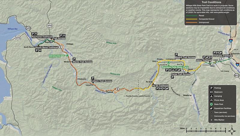 Willapa Hills State Park Trail
