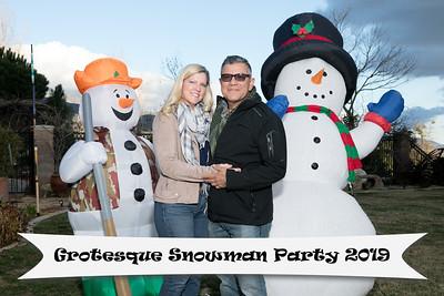 Grotesque Snowman Party 2.9.19