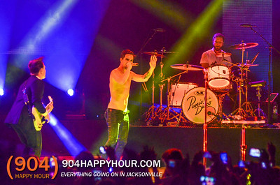 Panic! At The Disco Live at the Ampitheatre - 8.16.14