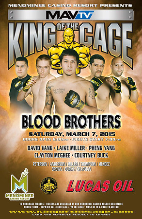 """3-7-15 """"Blood Brothers"""""""