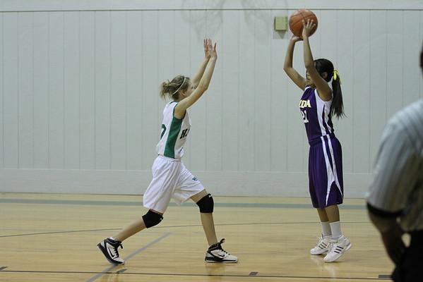 2011-Dec 8th Grade B Girls Basketball