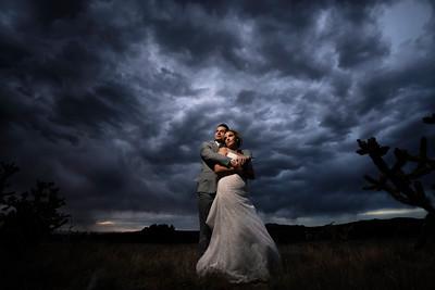 Sandia Park New Mexico Backyard Wedding Celebration