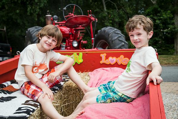 Alex & Will turn 7 !!!