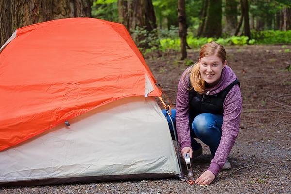 Camping Stock Shoot