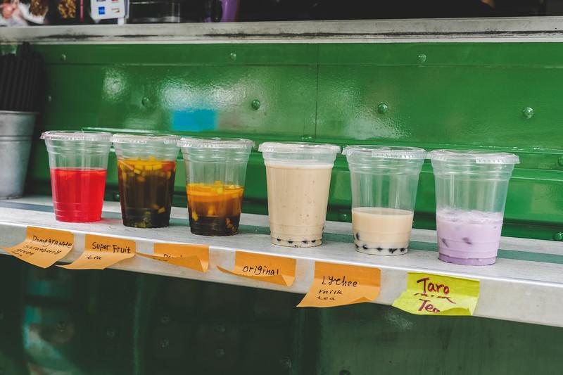 Boba tea flavours