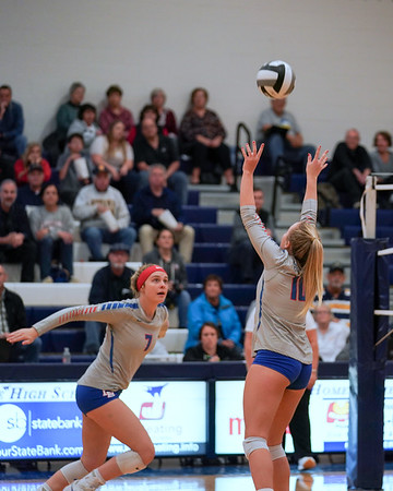 LB VB vs Johnstown-Monroe in D3 Regional Semi (2019-10-31)