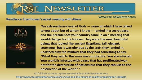 UFO News and Ramtha's Quotes