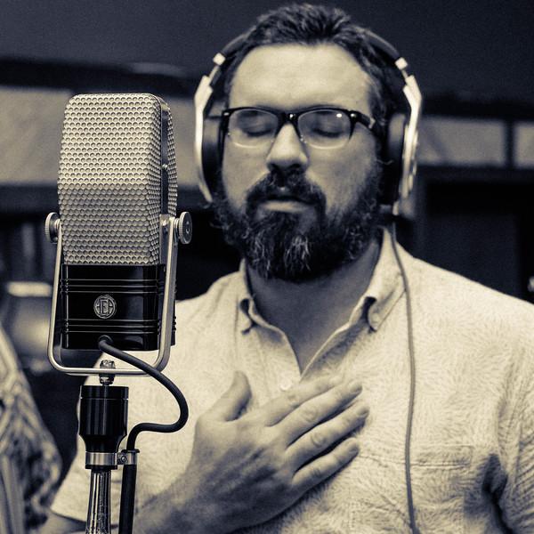Dan Dyer with The Texas Gentlemen at Fame Studios in Muscle Shoals