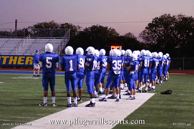 Panthers JV vs Connally Cougars