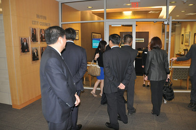 Shenyang China Delegation in Wichita June 5, 2014