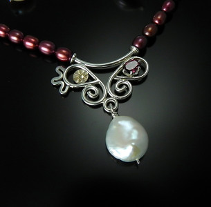 Jewelry by Joan Z. Horn at Smith Galleries