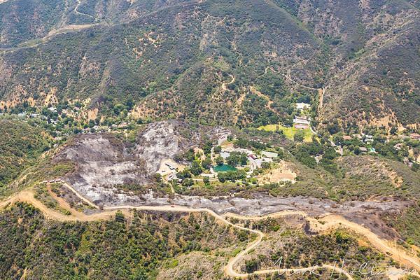 Mandeville Canyon Fire