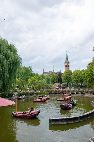 Tivoli Gardens - Scenic Boats