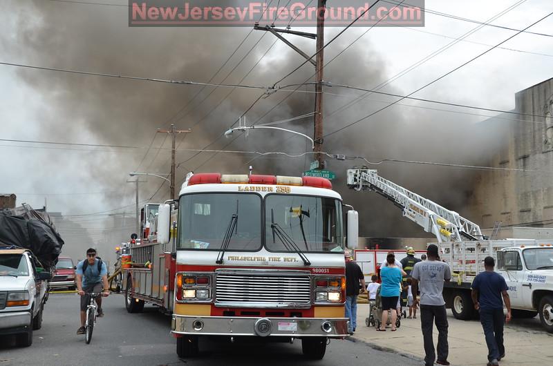 8-1-2012 PHILADELHIA 1901 E. Westmoreland St. -2nd Alarm Building