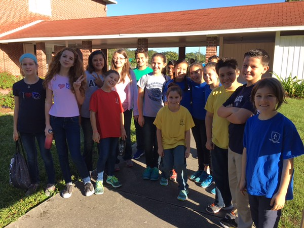 5th and 6th Grade Service Day 10/18/16