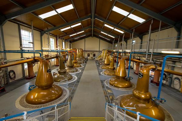 Glenfiddich Distillery, Dufftown, Scotland