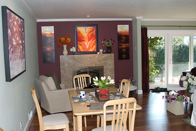 Family Room - before the new furniture
