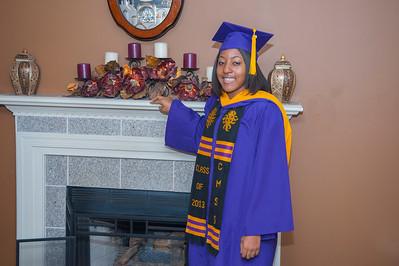 Erika Pearson Graduation Photos
